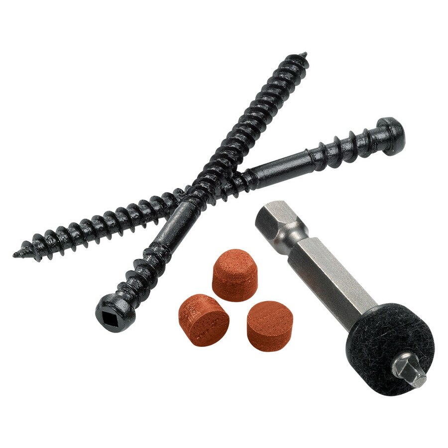 TimberTech Cortex 224-Count Brick Self-Drilling Concealed Screw Deck Hidden Fasteners (100 Lineal-ft Coverage)