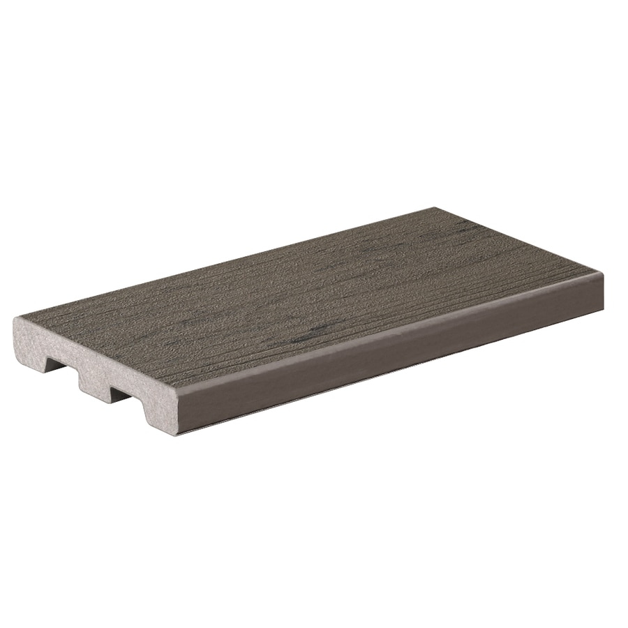 TimberTech Silver Maple Composite Deck Board (Actual: 0.94-in x 5.36-in x 20-ft)