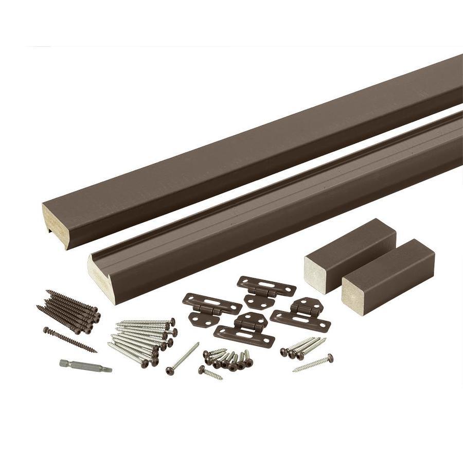 TimberTech Evolutions Rail Traditional Walnut Composite Deck Railing Kit (Assembled: 6-ft x 3-ft)