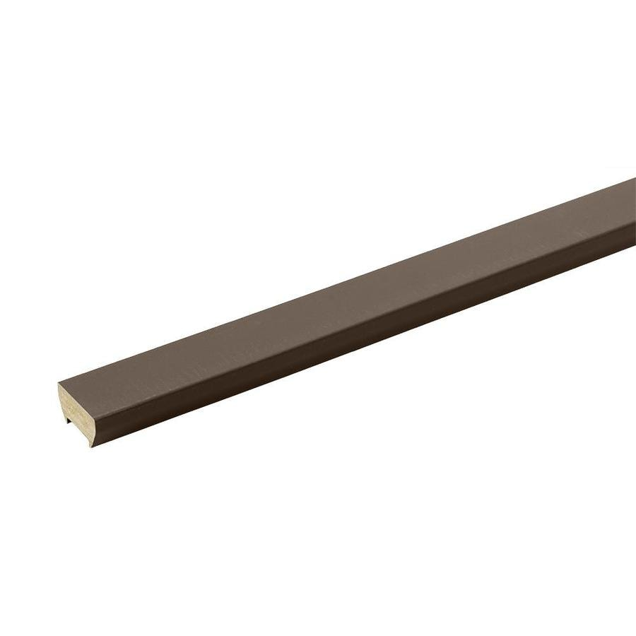 TimberTech Evolutions Rail Traditional Walnut Composite Deck Top Rail (Common: 16-ft; Actual: 0.875-in x 6.35-in x 16-ft)