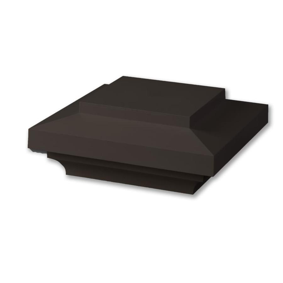 AZEK Kona Composite Deck Post Cap (Fits Common Post Measurement: 5-1/2-in x 5-1/2-in; Actual: 4-in x 9-in x 9-in)