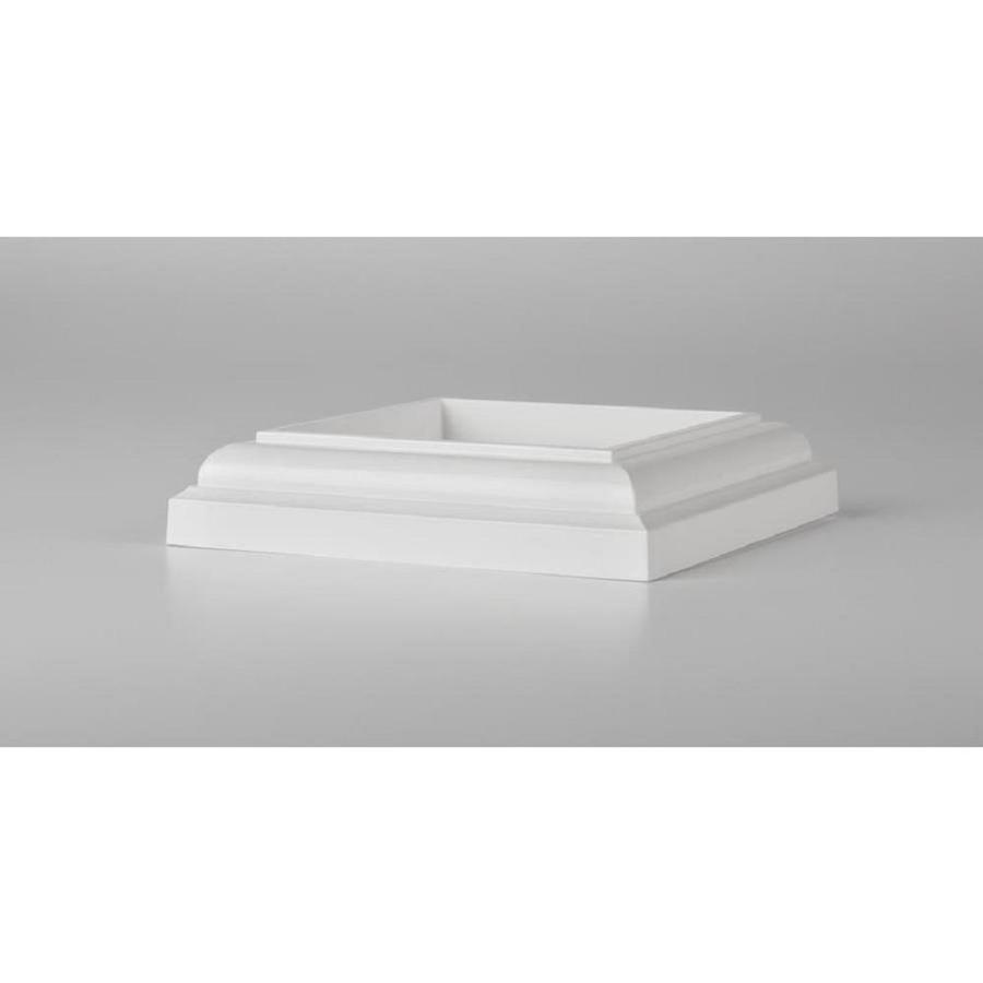 TimberTech White Composite Deck Post Skirt
