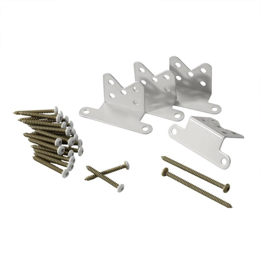 TimberTech White Stainless Steel Rail Connector