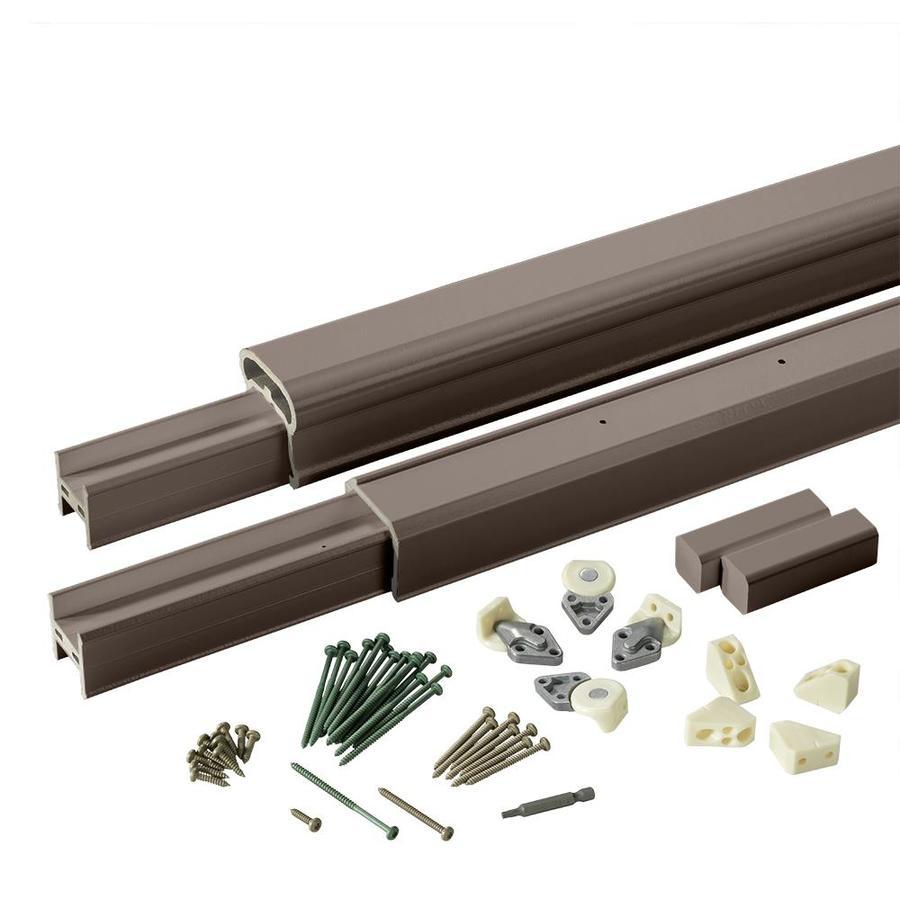 TimberTech Radiancerail Kona Composite Deck Railing Kit (Assembled: 8-ft x 3-ft)