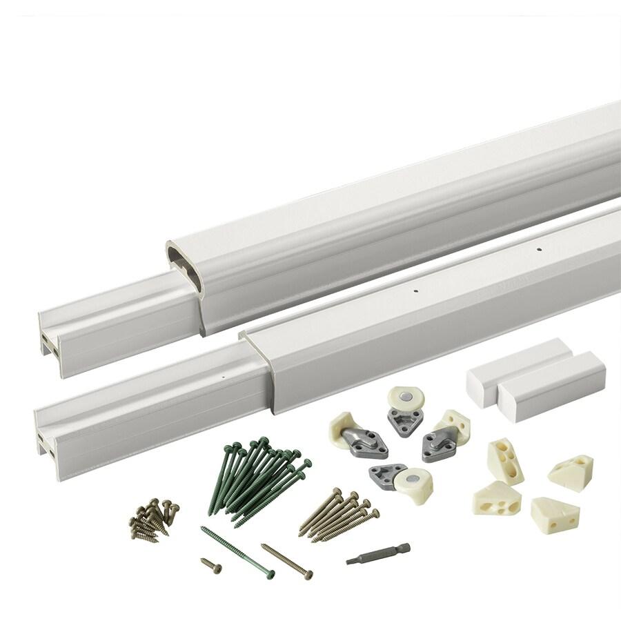 TimberTech Radiancerail White Composite Deck Railing Kit (Assembled: 10-ft x 3-ft)
