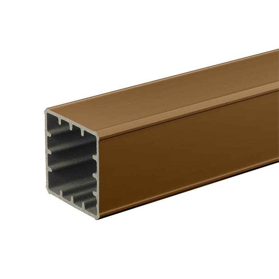 TimberTech RadianceRail Mountain Cedar Composite Deck Post Sleeve (Fits Common Post Measurement: 5-in x 5-in; Actual: 5-in x 5-in x 42-in)
