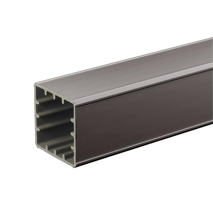 TimberTech RadianceRail Slate Gray Composite Deck Post Sleeve (Fits Common Post Measurement: 5-in x 5-in; Actual: 5-in x 5-in x 144-in)