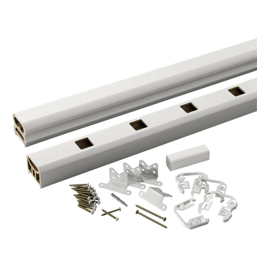 TimberTech Radiancerail Express White Composite Deck Railing Kit (Assembled: 6-ft x 3-ft)
