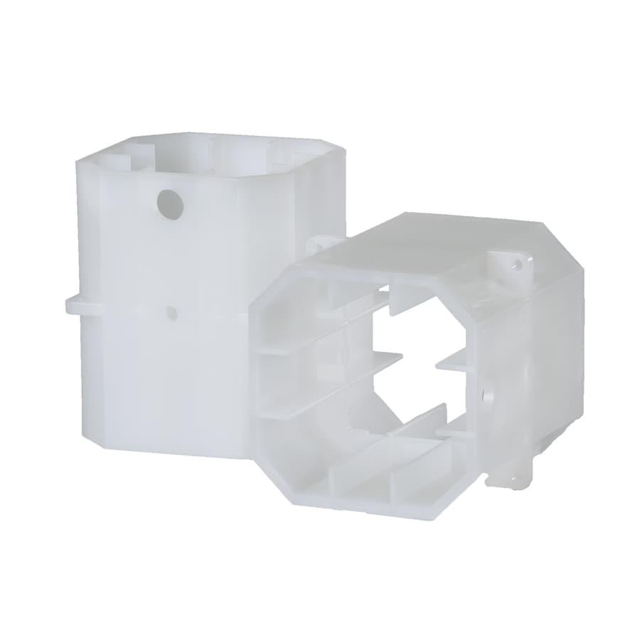 TimberTech White Composite Column Adapter