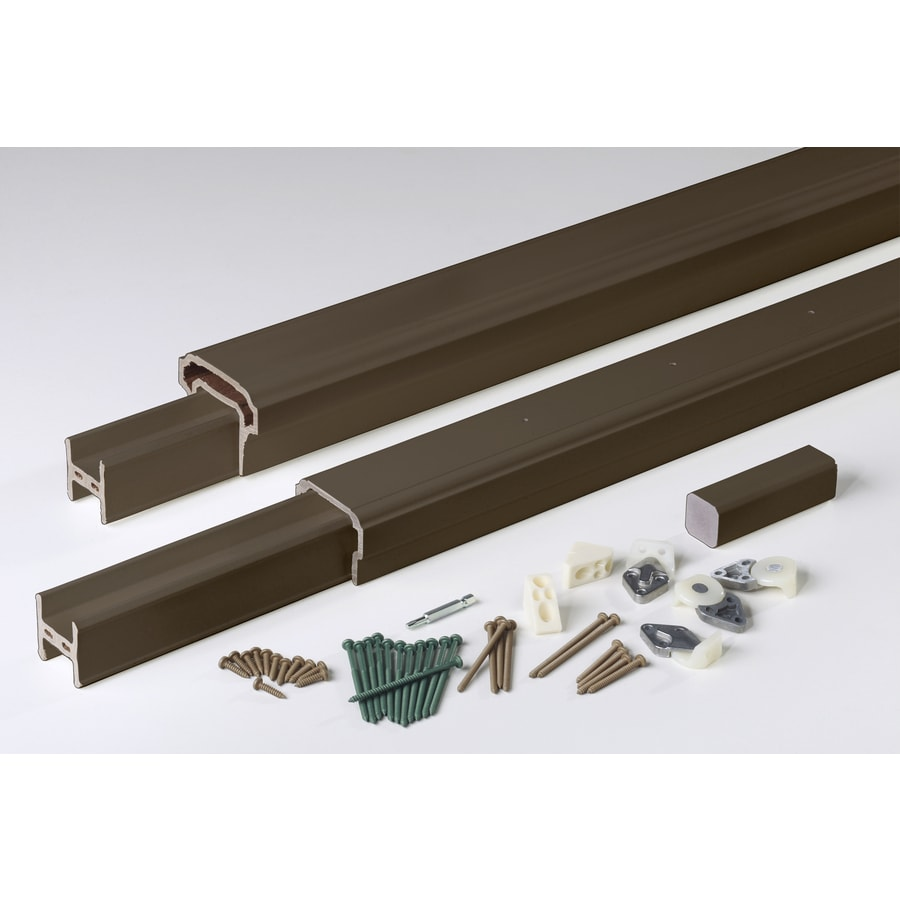 AZEK Radiancerail Kona Composite Deck Railing Kit (Assembled: 6-ft x 3-ft)