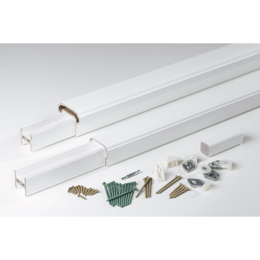 AZEK Premier Rail White Composite Deck Railing Kit (Assembled: 8-ft x 3-ft)