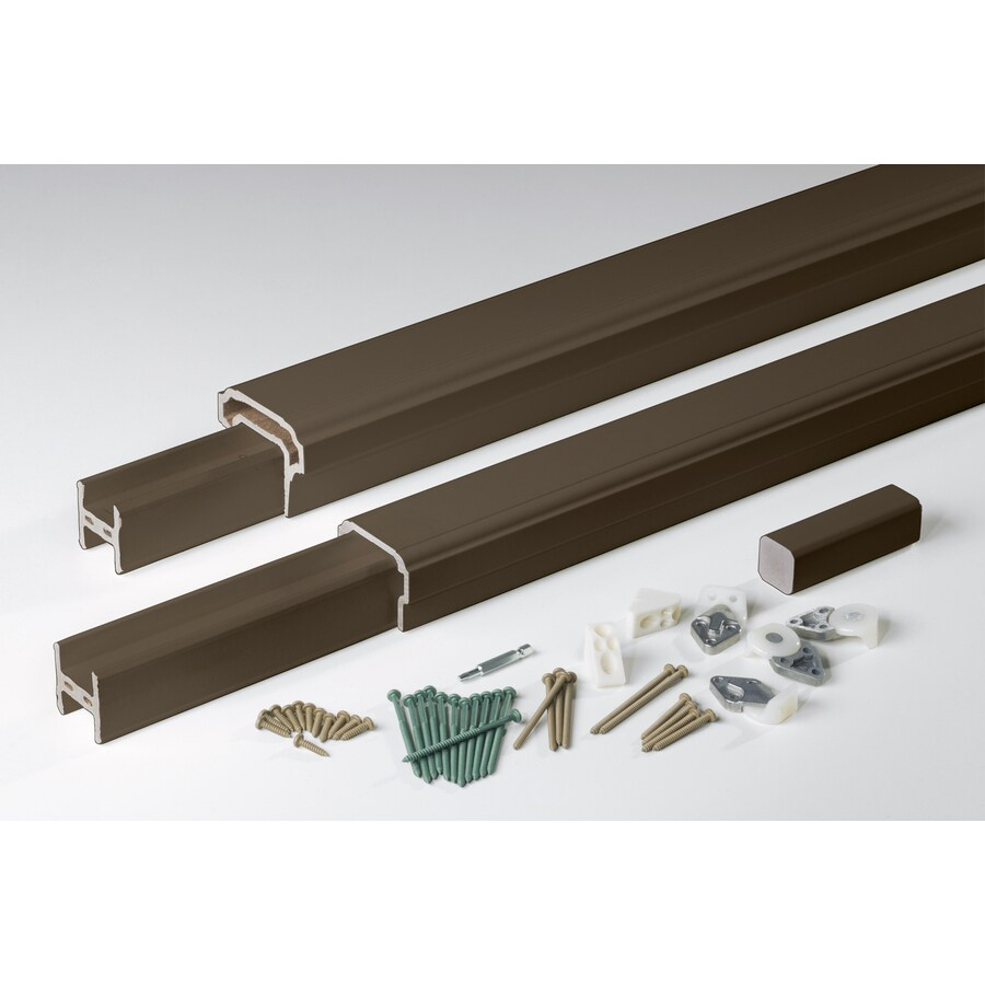 AZEK Premier Rail Kona Composite Deck Railing Kit (Assembled: 8-ft x 3-ft)