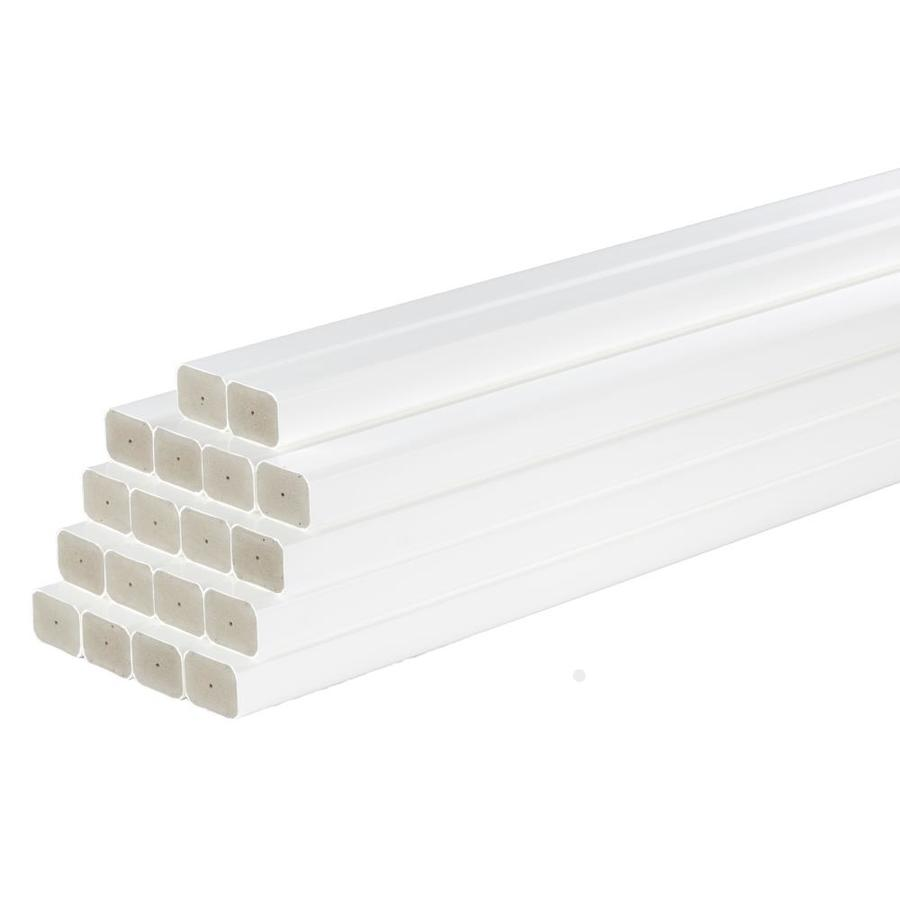 AZEK Reserve Rail White Composite Deck Baluster (Actual: 1.25-in x 1.73-in x 29-in)