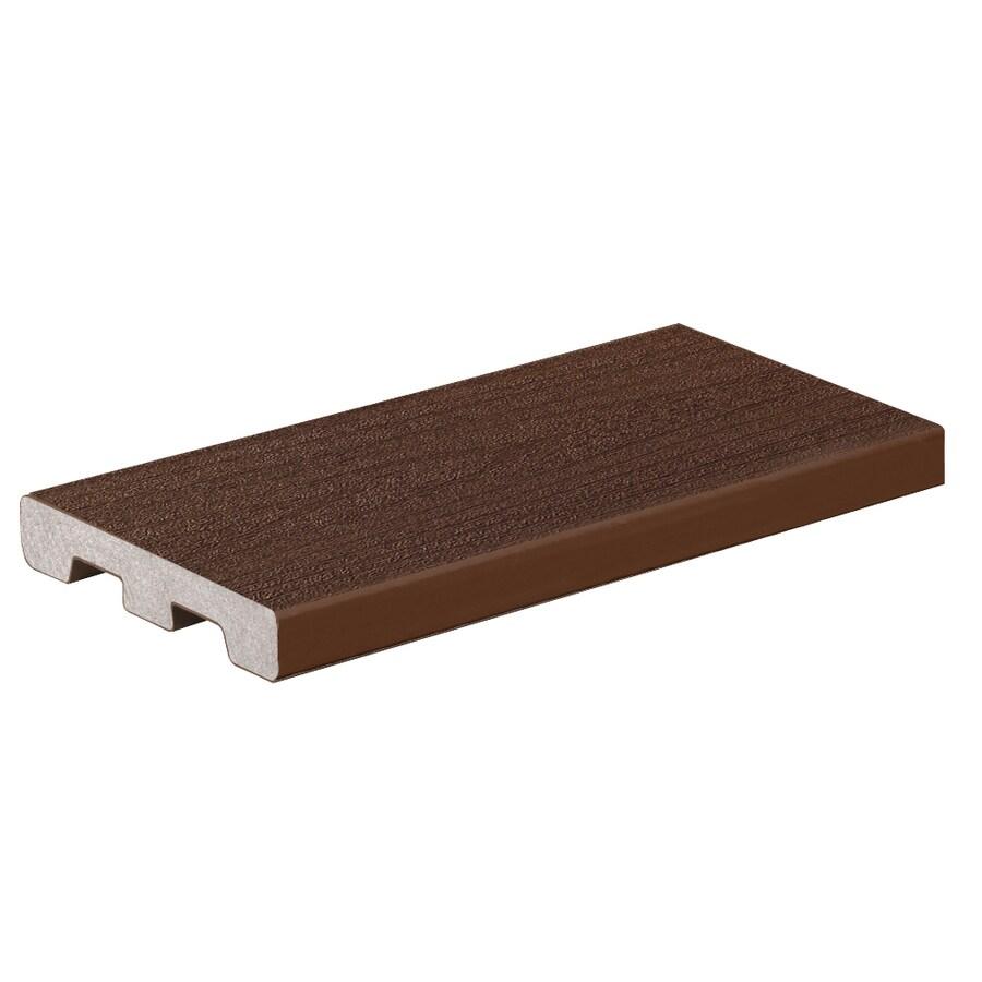 TimberTech Terrain Rustic Elm Groove Composite Deck Board (Actual: 0.94-in x 5.36-in x 12-ft)