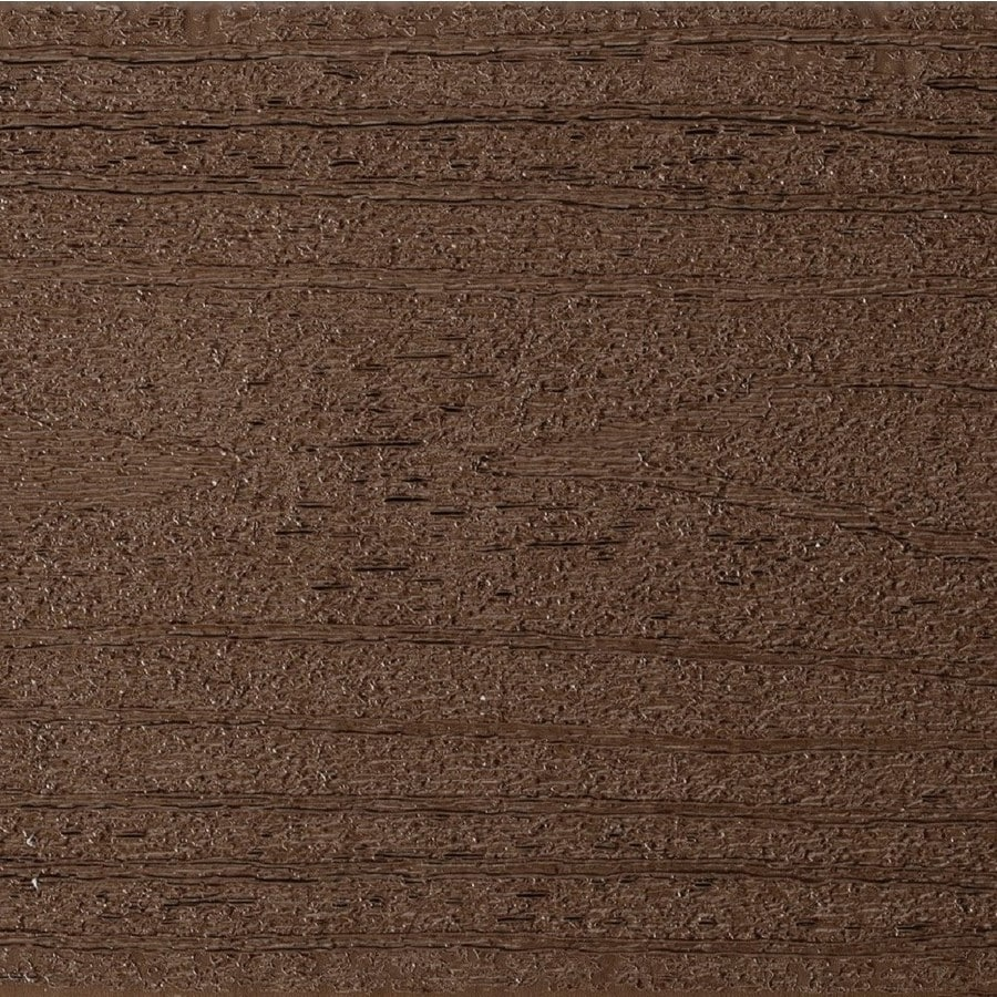 TimberTech Terrain Rustic Elm Groove Composite Deck Board (Actual: 0.94-in x 5.36-in x 20-ft)