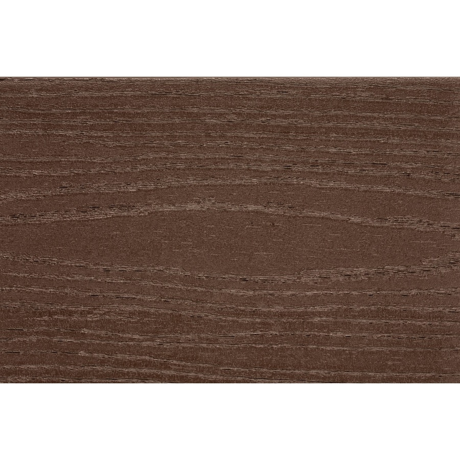 TimberTech Tropical Antique Palm Groove Composite Deck Board (Actual: 0.94-in x 5.36-in x 12-ft)