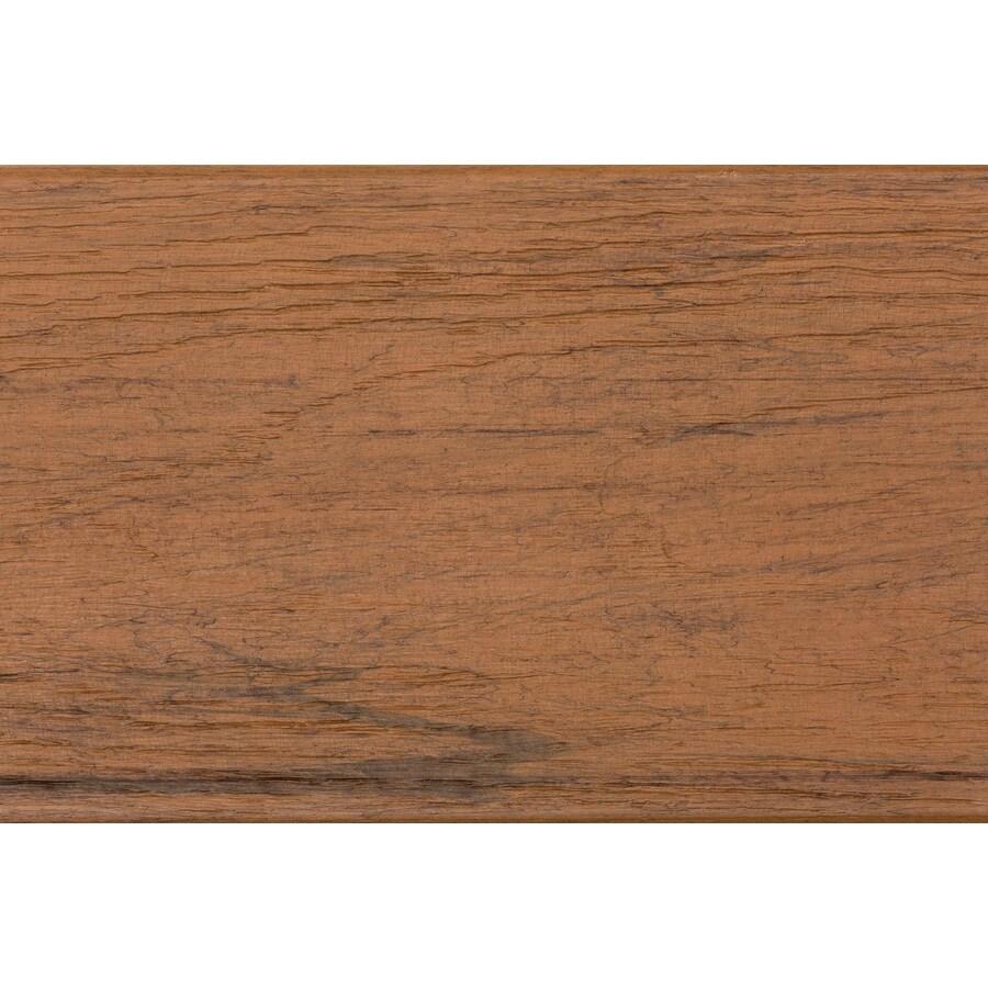 TimberTech Tropical Antigua Gold Radius Edge Composite Deck Board (Actual: 0.94-in x 5.36-in x 20-ft)