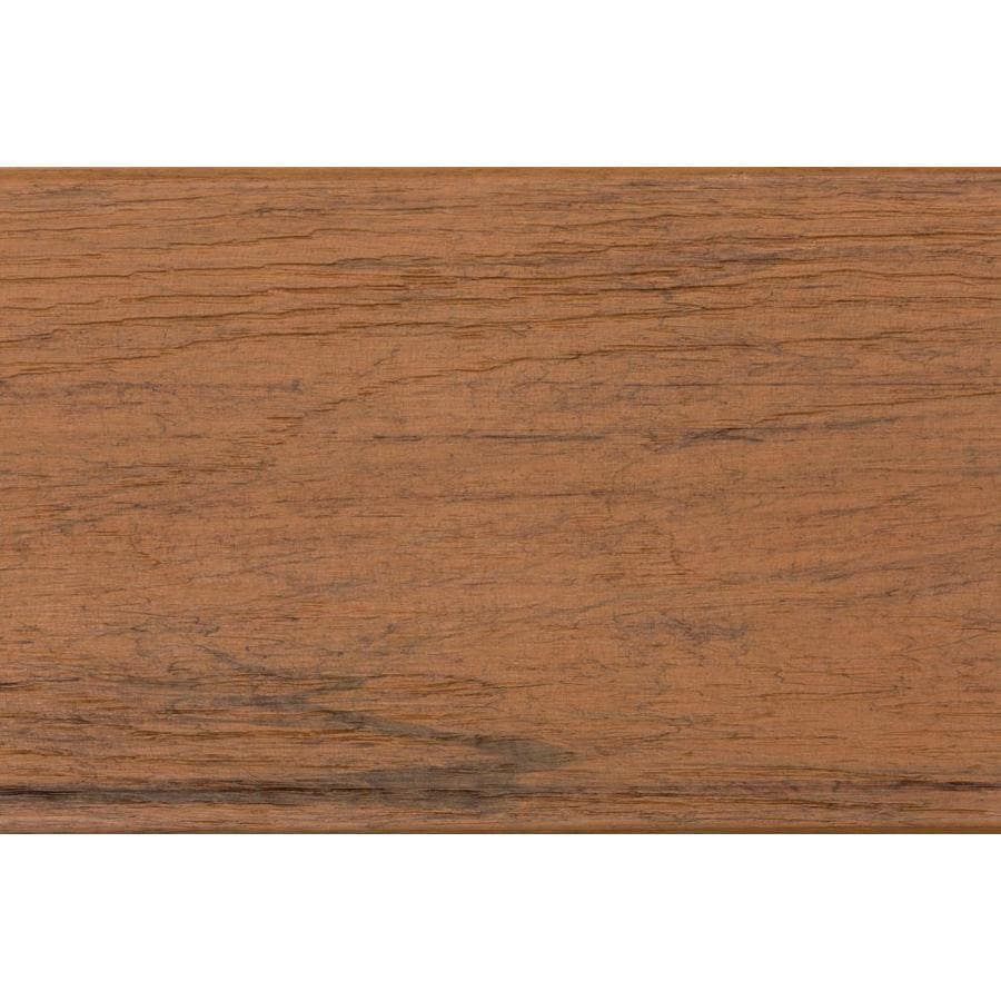 TimberTech Tropical Antigua Gold Composite Deck Board (Actual: 0.56-in x 12-in x 12-ft)