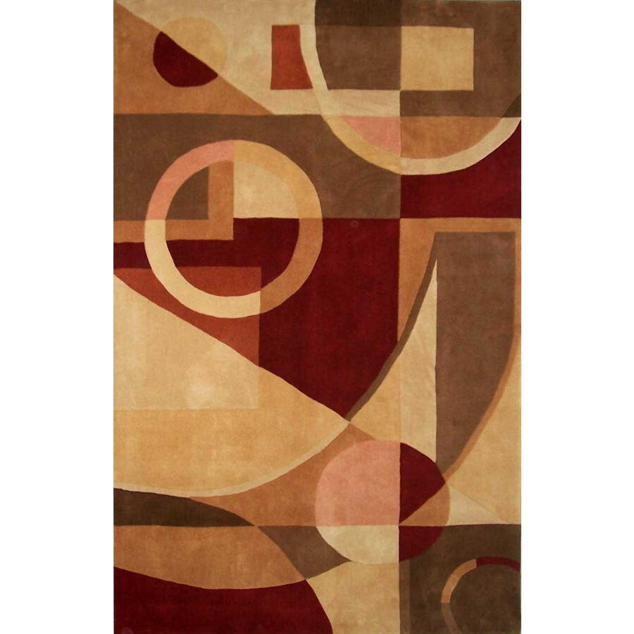 Safavieh Rodeo Drive Beige Rectangular Indoor Tufted Area Rug (Common: 5 x 8; Actual: 60-in W x 96-in L x 0.67-ft Dia)