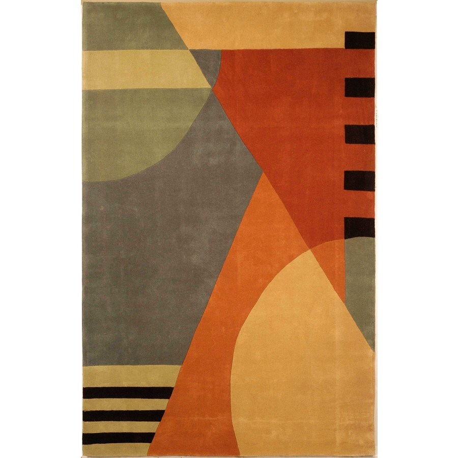 Safavieh Rodeo Drive Gold Rectangular Indoor Tufted Area Rug (Common: 8 x 11; Actual: 96-in W x 132-in L x 0.75-ft Dia)