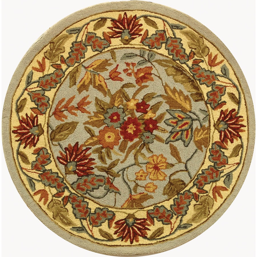 Round Outdoor Rugs Lowes Home Design Mannahatta Us