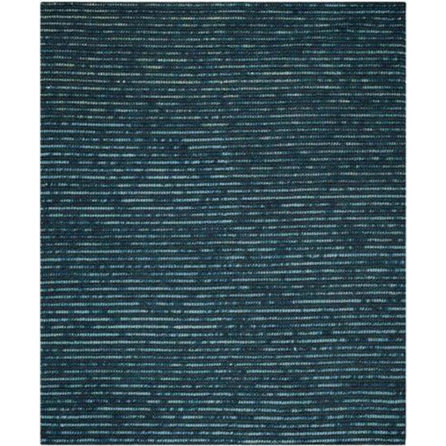 Safavieh Bohemian Dark Blue and Multicolor Rectangular Indoor Hand-Knotted Area Rug (Common: 6 x 9; Actual: 72-in W x 108-in L x 0.67-ft Dia)