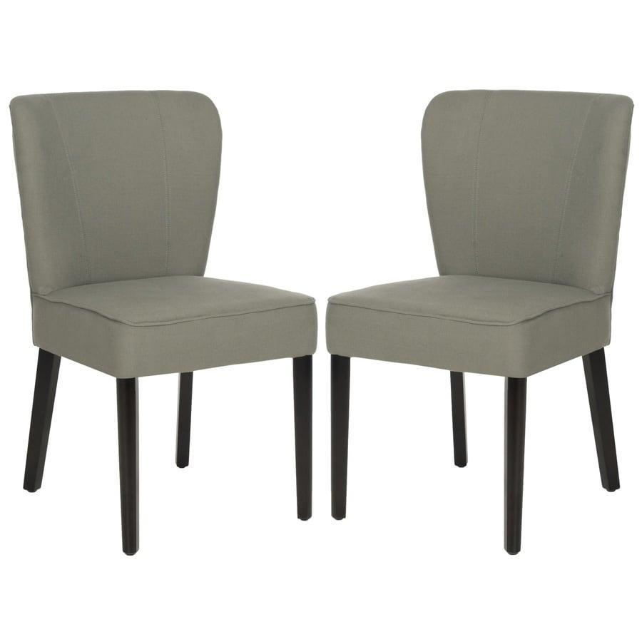 Safavieh Set of 2 Mercer Sea Mist Side Chairs