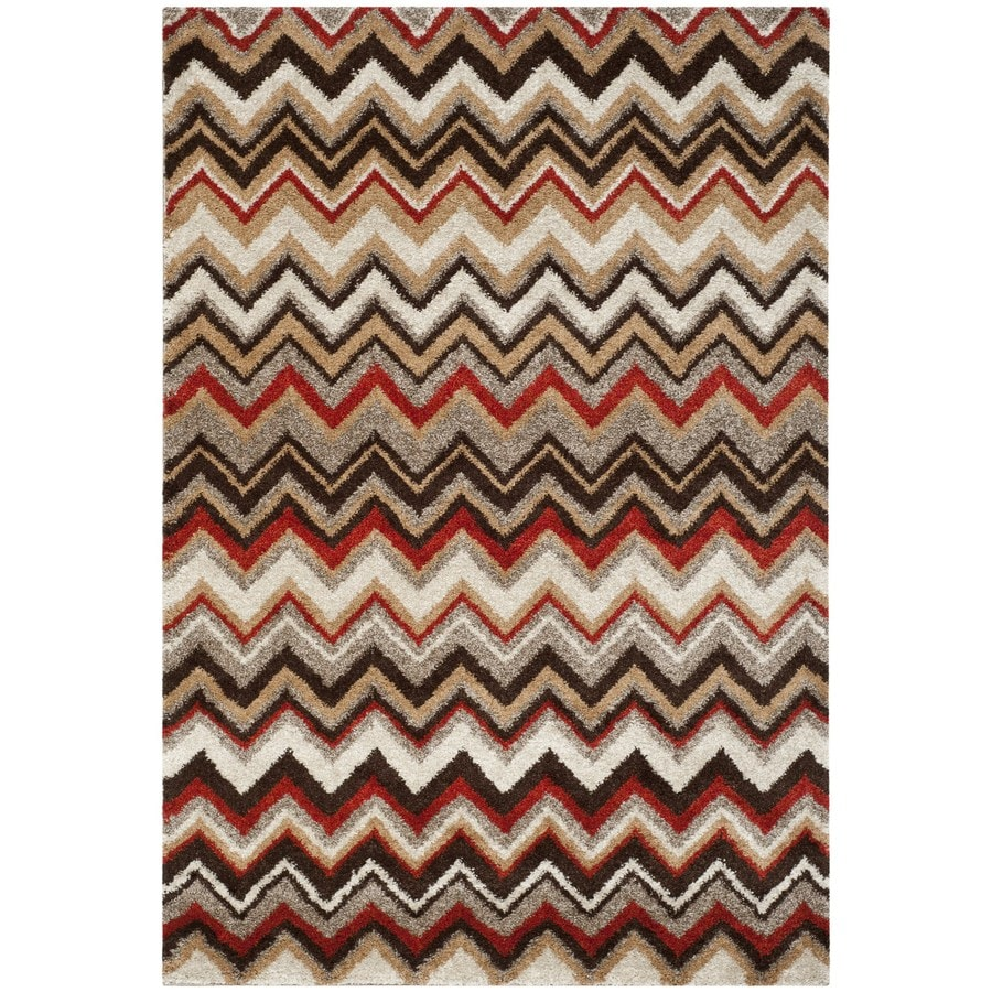 Safavieh Tahoe Rectangular Cream Transitional Woven Area Rug (Common: 8-ft x 10-ft; Actual: 8-ft x 10-ft)