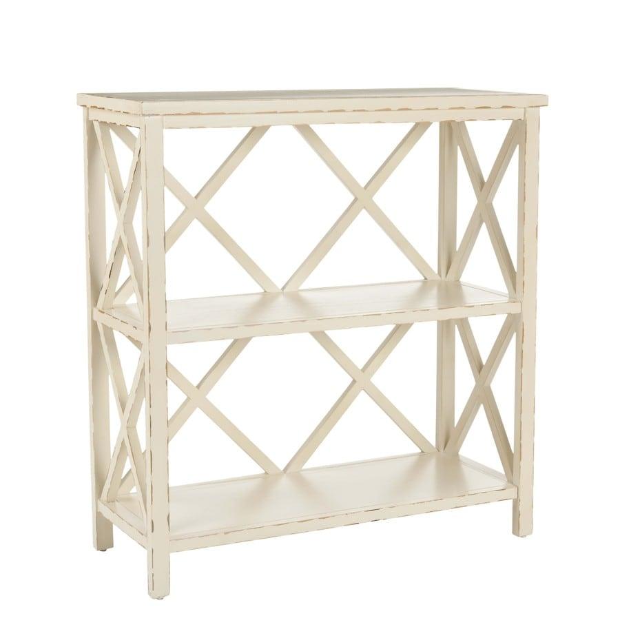 Safavieh American Home Distressed White Pine Rectangular End Table