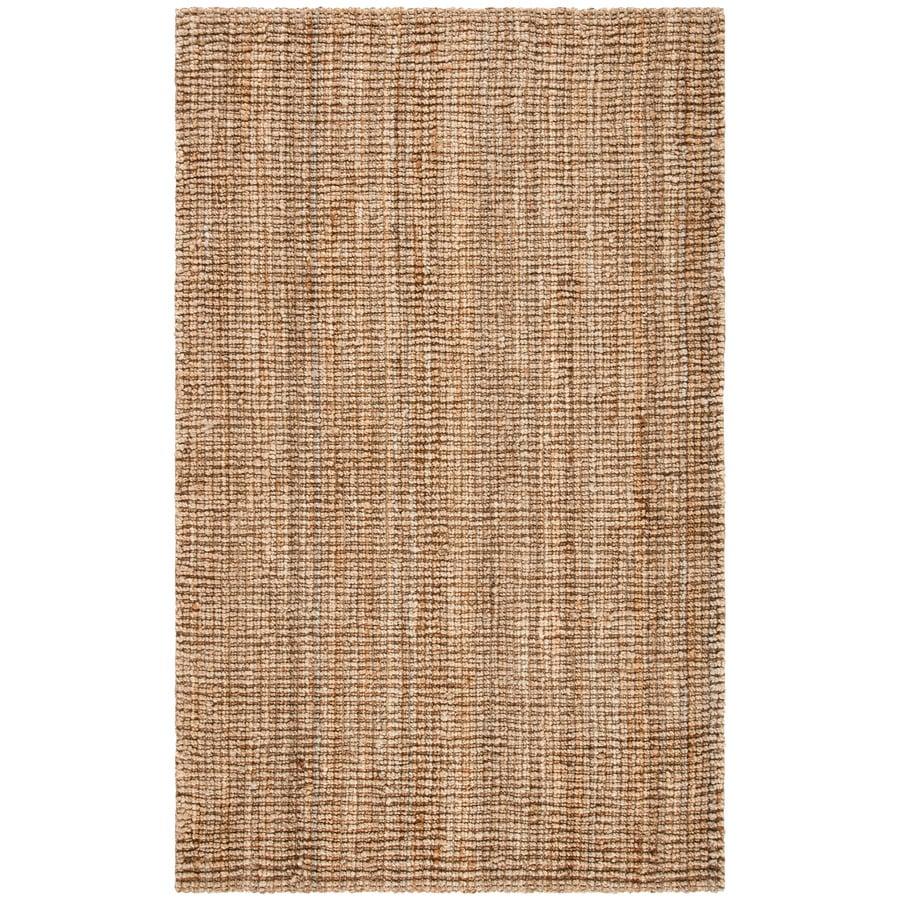 Safavieh Natural Fiber Natural Rectangular Indoor Woven Area Rug (Common: 5 x 7; Actual: 60-in W x 90-in L x 0.58-ft Dia)