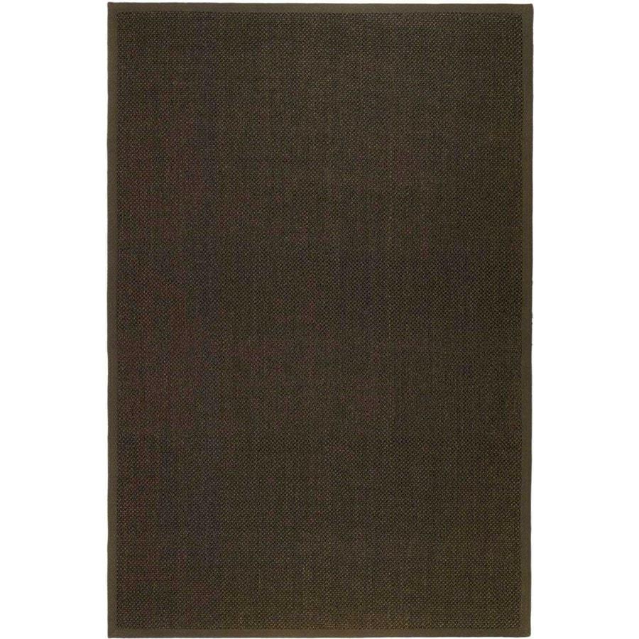 Safavieh Natural Fiber Brown Rectangular Indoor Woven Area Rug (Common: 9 x 12; Actual: 108-in W x 144-in L x 0.92-ft Dia)
