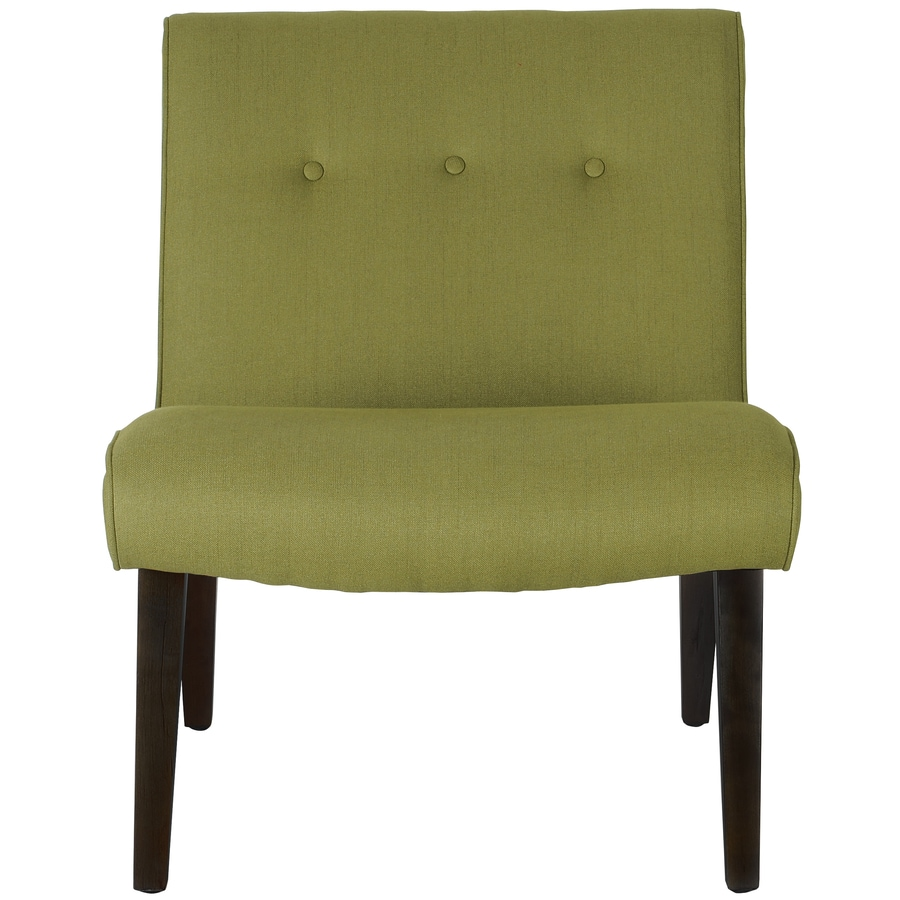 Shop Safavieh Mercer Green Accent Chair At