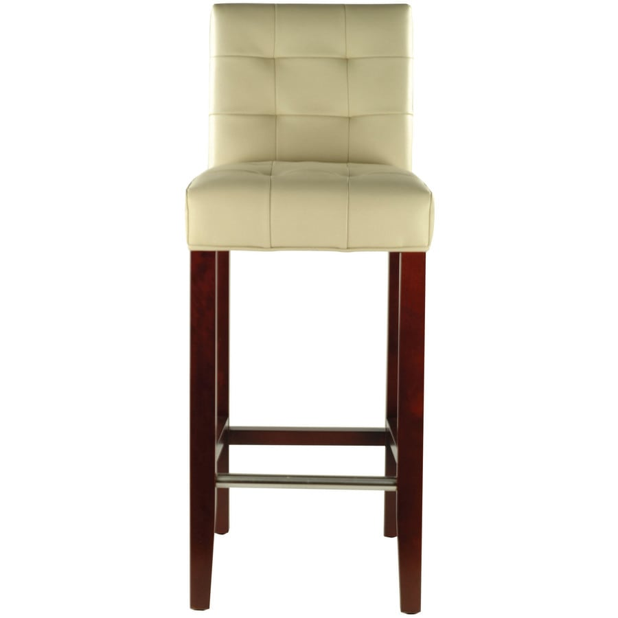 Safavieh Mercer Modern Ivory 30-in Bar Stool