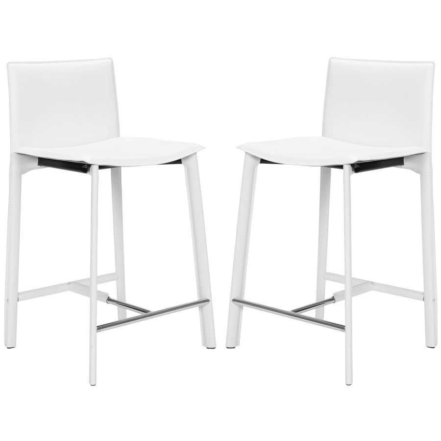 Safavieh Fox White 24-in Counter Stool