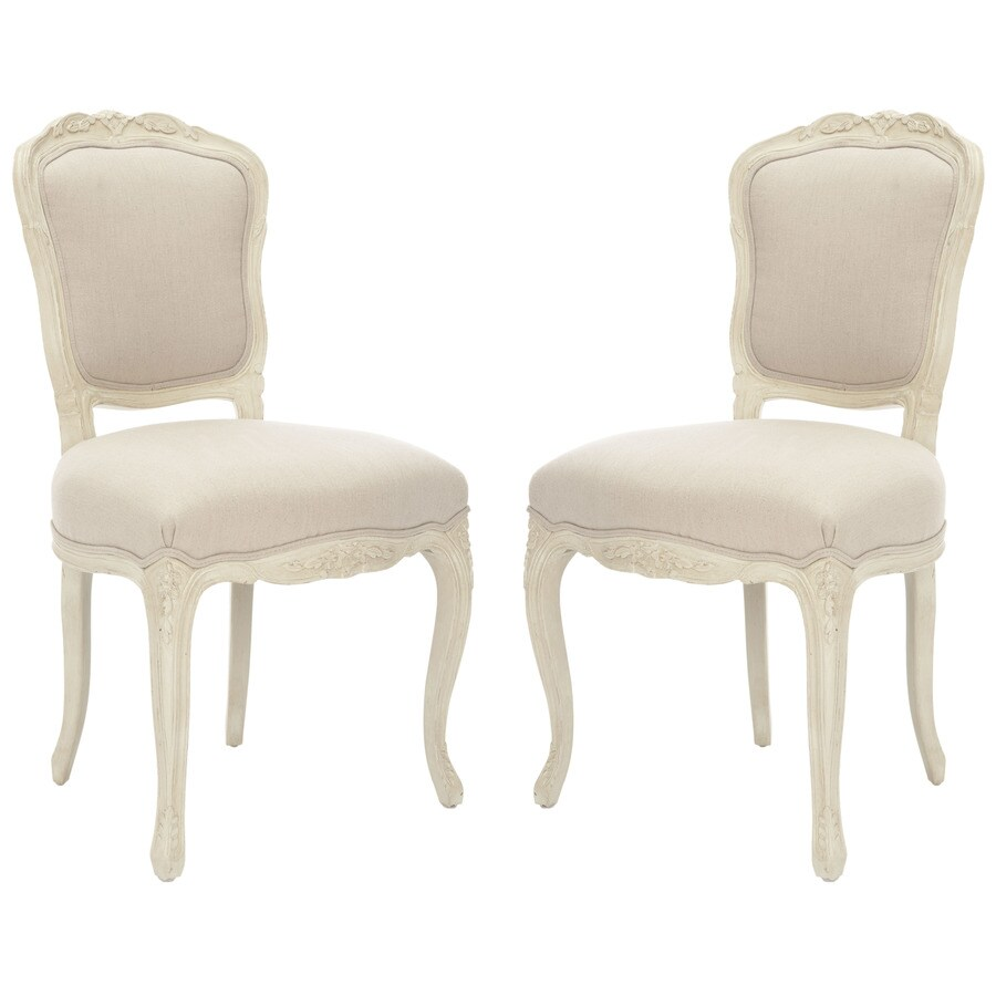 Safavieh Set of 2 American Home Taupe Side Chairs