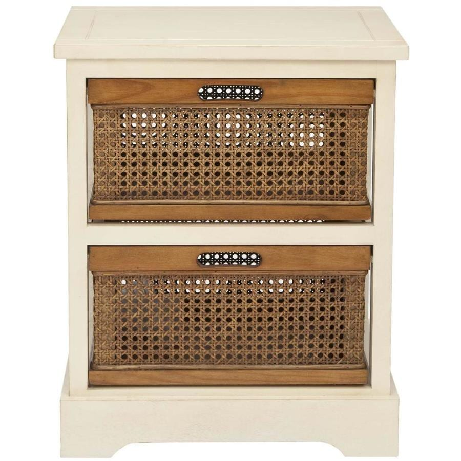 Safavieh American Home White 2-Drawer Dresser