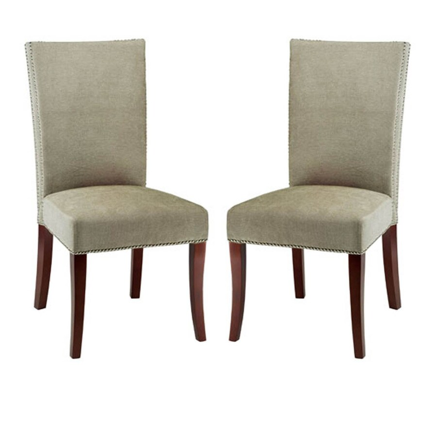 Safavieh Set of 2 Mercer Sage Side Chairs