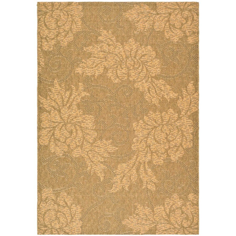 Safavieh 8-ft x 11-ft Rectangular Gold Area Rug