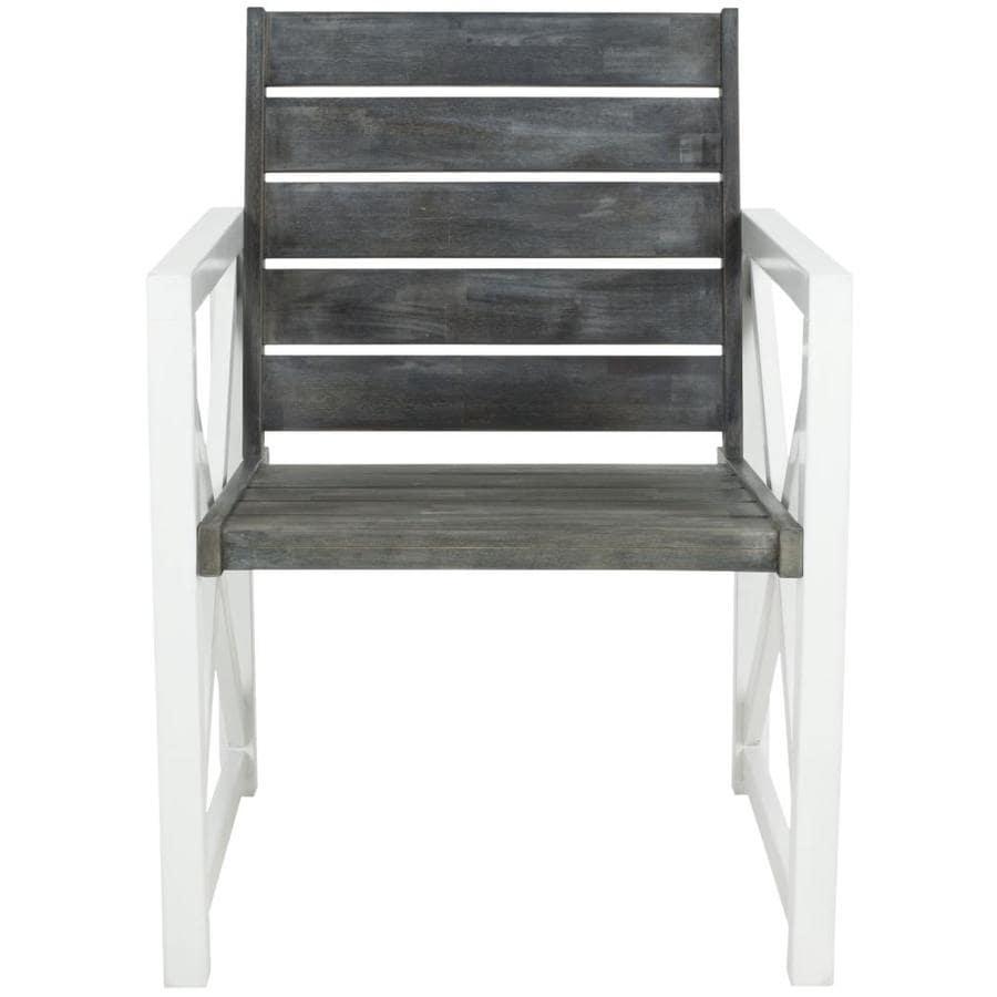 Shop Safavieh 2 Count Acacia Patio Conversation Chairs At