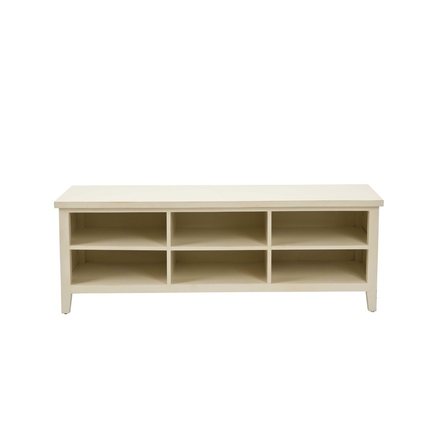 Shop Safavieh 18-in H X 51-in W X 16-in D 2-Tier Wood