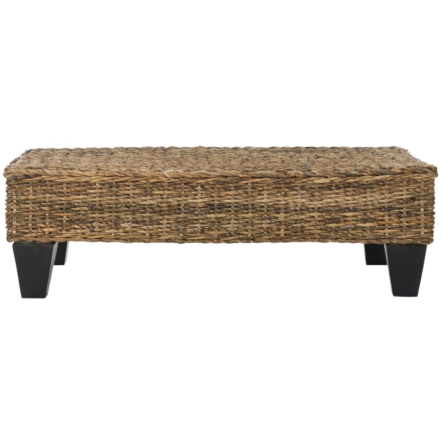 Shop Safavieh Fox Home Natural Indoor Accent Bench At