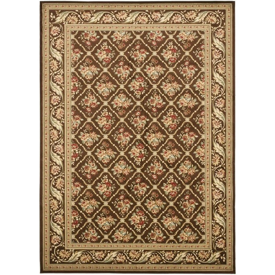 Safavieh Lyndhurst Green and Green Rectangular Indoor Machine-Made Area Rug (Common: 9 x 12; Actual: 105-in W x 144-in L x 0.67-ft Dia)