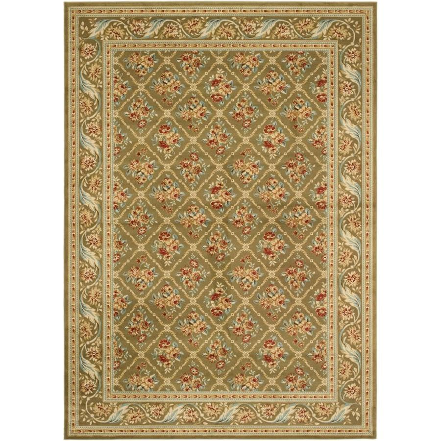 Safavieh Lyndhurst Ivory Rectangular Indoor Machine-Made Area Rug (Common: 9 x 12; Actual: 105-in W x 144-in L x 0.67-ft Dia)