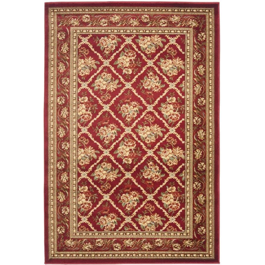 Safavieh Lyndhurst Black and Brown Rectangular Indoor Machine-Made Area Rug (Common: 4 x 6; Actual: 48-in W x 72-in L x 0.42-ft Dia)