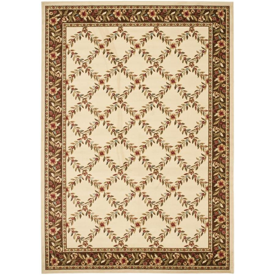 Safavieh Lyndhurst Red and Black Rectangular Indoor Machine-Made Area Rug (Common: 9 x 12; Actual: 105-in W x 144-in L x 0.67-ft Dia)