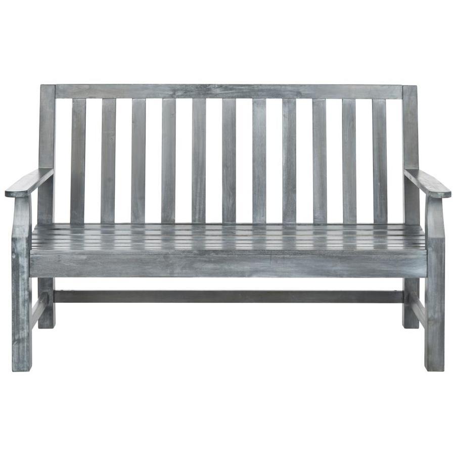 Safavieh Safavieh Indaka Bench 60-in W x 25-in L Patio Bench