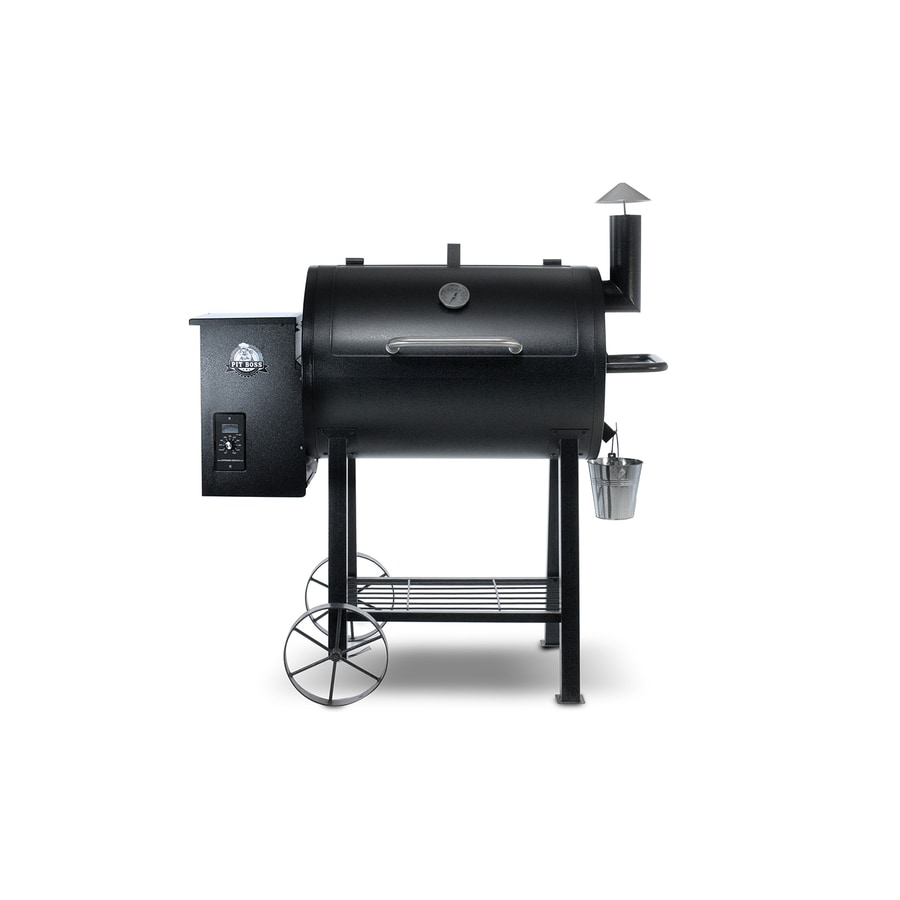 Pit Boss Pellet Grills 575-sq in Black High Temperature Powder Coat Pellet Grill
