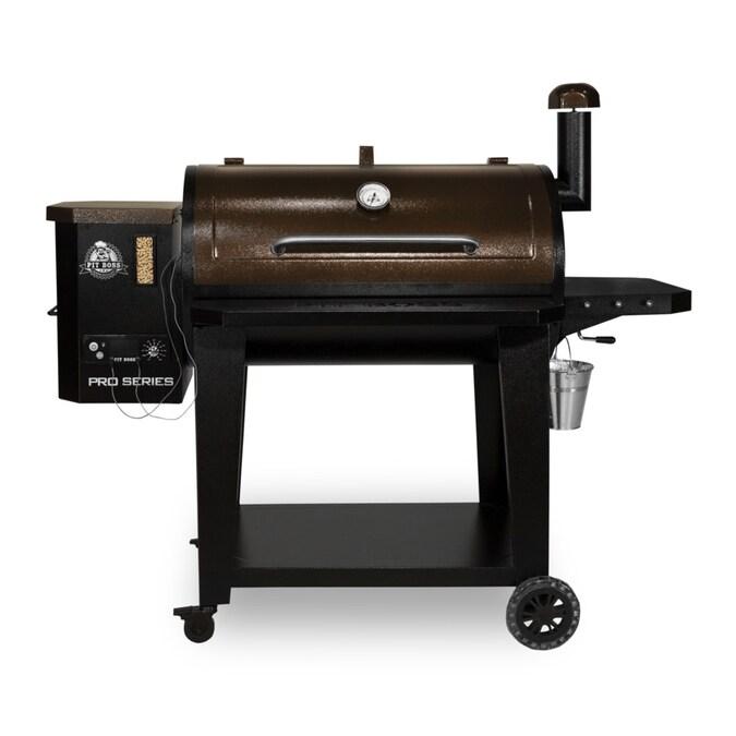 Pit Boss Pro Series 1100-sq in Black Pellet Grill