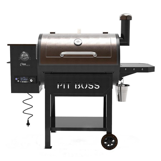 Pit Boss Pro Series 820-sq in Black and Chestnut Pellet Grill