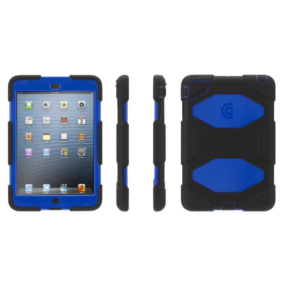 Griffin Technology Blue/Black Polycarbonate and Silicone Case for the iPad Mini